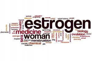 Estrogen word cloud
