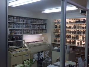 調剤室です。